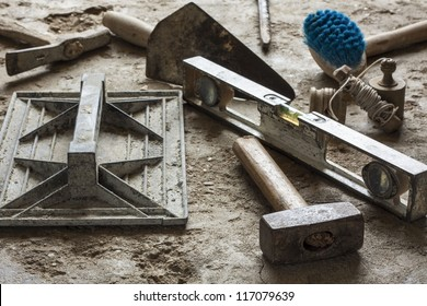 Masonry Tools Images, Stock Photos & Vectors | Shutterstock