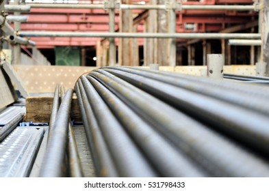construction material: reinforcing bar