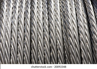 Construction Material - Roll of Metal Wire Strands