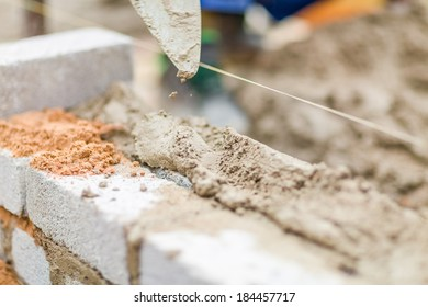 Construction material used on genuine construction site