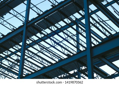 construction metal structure roof beam building industry
