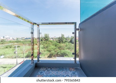 Construction modern style aluminum rail and fall protection