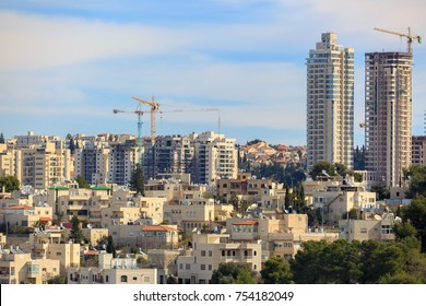 Construction of new buildings in Jerusalem
