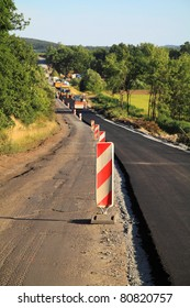 Construction of a new road leading to a distant city