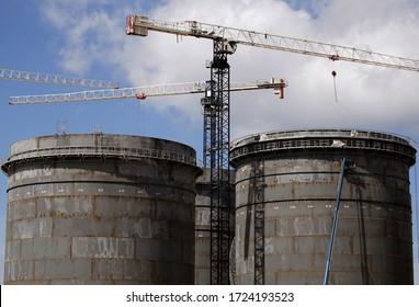 Construction of new tanks for oil & petrochemical fluids as biofuels