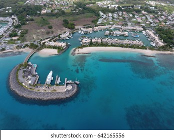 Construction of Private Villa Club with Harbour for Luxury Yachts, boats and ships on top 10 travel destination in the world