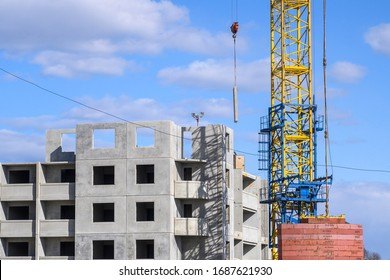 Construction of residential buildings in Belarus, during the global pandemic of the virus