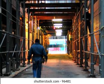 A Construction scene
