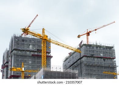 Construction site.