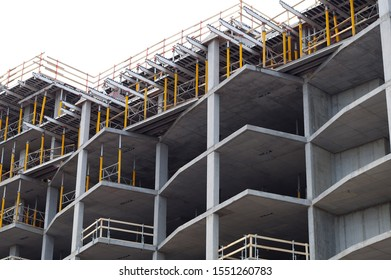 construction site concrete building work development structure