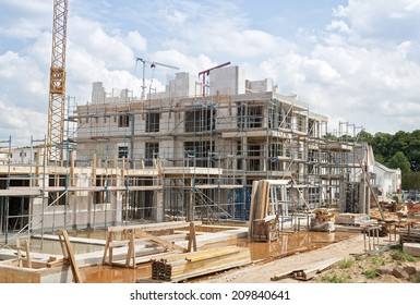 construction site, home