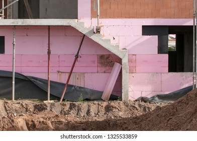 construction site, insulation