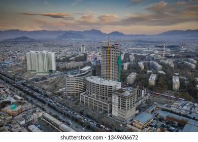 Construction Site, Kabul, Afghanistan