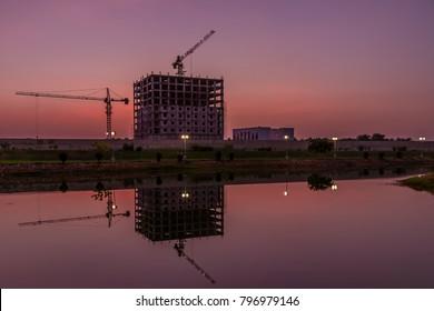 Construction Site, Muscat, Oman