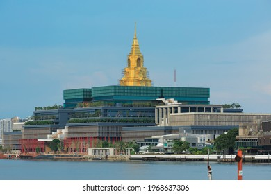construction site of new government house , parliament, Thailand, May 2021