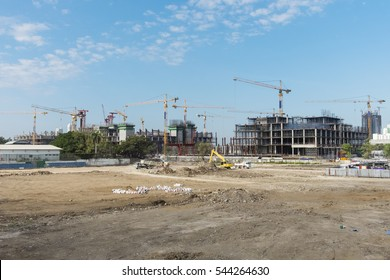 construction site of new government house, bangkok,  Thailand