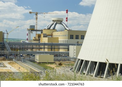 the construction site of a nuclear power plant (NPP-2) Novovoronezh, Russian Federation, 20 June 2017