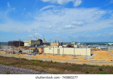 the construction site of a nuclear power plant (NPP-2) Novovoronezh, Russian Federation, 10 June 2015