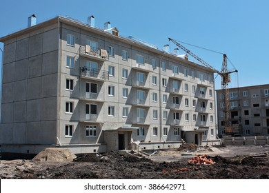 Construction site prefabricated house