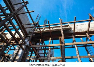 Construction steel stabilizer
