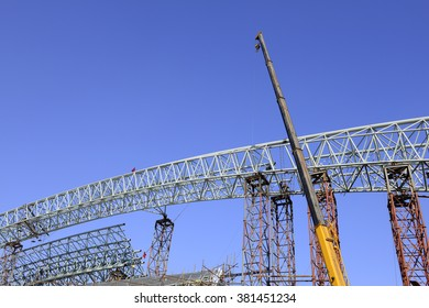 Is the construction of steel structure buildings