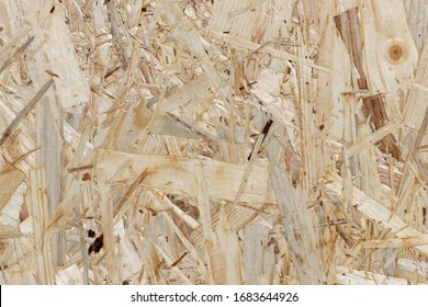 Construction Timber: Texture of an Oriented Strand Board