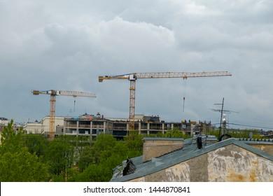 Old Tower Crane Images, Stock Photos & Vectors | Shutterstock