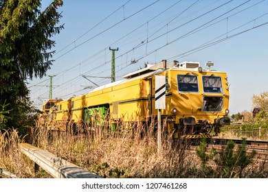 A construction train also called a work train
