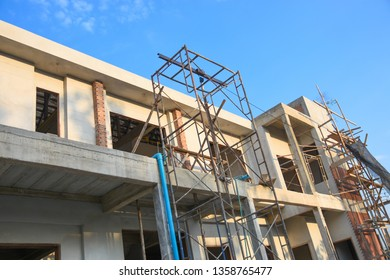 Construction of a two-story building