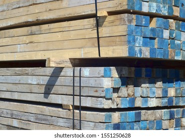 construction wood plywood lumber heap plank stack woodpile