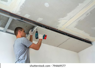 Ceiling Contractor Images, Stock Photos & Vectors | Shutterstock