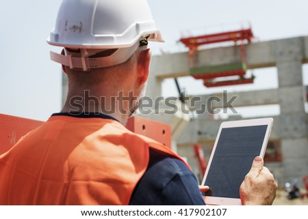 Construction Worker Planning Developer Concept