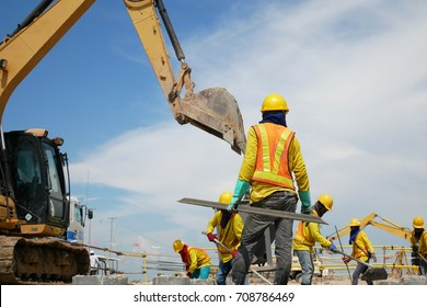 construction worker in construction site