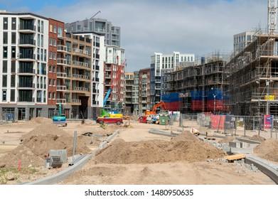 Constructions New Neighborhood At Diemen South The Netherlands 2019