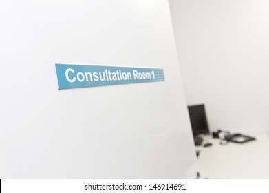 consultation room for doctor