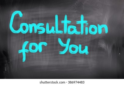 Consultation For You Concept