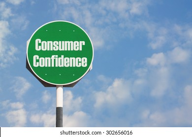 Consumer Confidence Sign