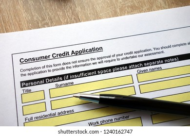 consumer credit application images stock photos vectors
