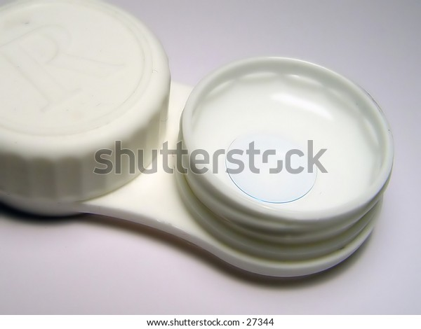 Contact Lens in contact case