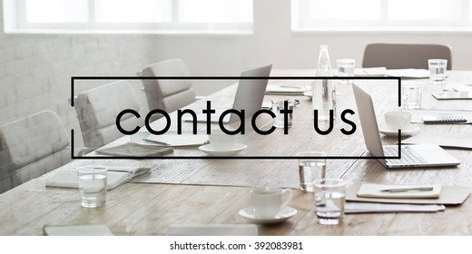 Contact Us Assistance Support Help Concept
