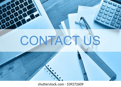 Contact Us Customer Service Support Concept