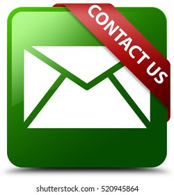 Contact us (email icon) green square button