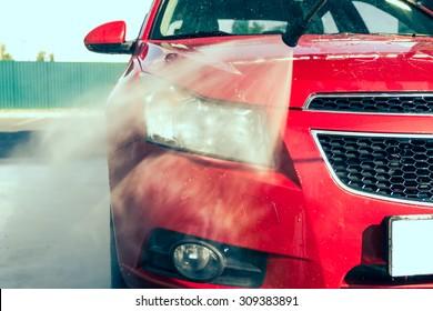 Contactless car wash