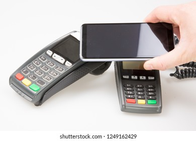 Contactless payment POS Terminal with smartphone