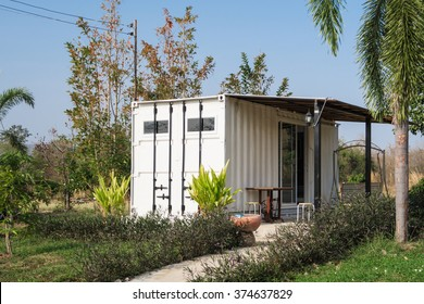 Container House. (Reuse Container for building houses. )