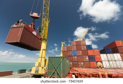 Reefer Container Images Stock Photos Amp Vectors Shutterstock