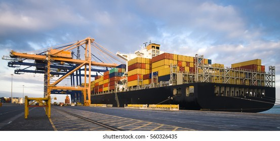 Container Operation in Port Terminal