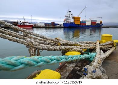 container port, saudarkrokur