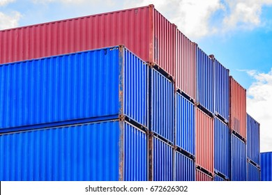 container, container ship in import export and business logistic,By crane ,Trade Port , Shipping, cargo to harbor. Aerial view, Water transport, International, Shell Marine, transportation, logistic