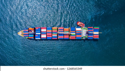 Container Ship Vessel